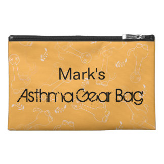 Orange Dinosaur Asthma Gear Bag