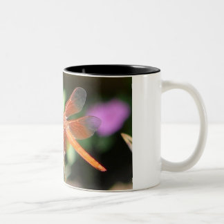 Orange Dragonfly Mug