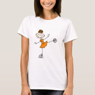 Orange Dress Figure Skater Tshirts and Gifts