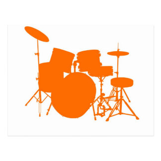 Orange drums postcard