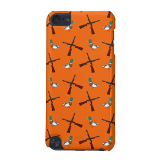 Orange duck hunting pattern iPod touch 5G case