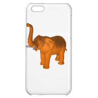 Orange Elephant Case For iPhone 5C