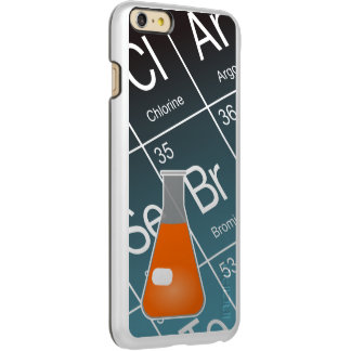 Orange Erlenmeyer (Conical) Flask Chemistry iPhone 6 Plus Case