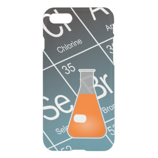Orange Erlenmeyer (Conical) Flask Chemistry iPhone 7 Case
