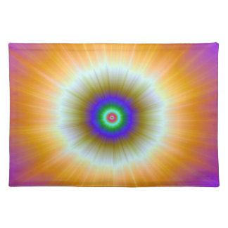 Orange Explosion of Color Placemats
