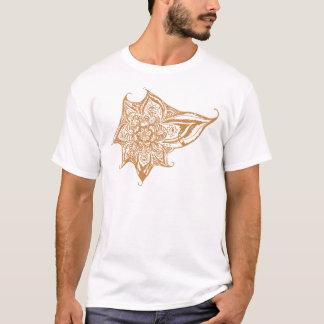 Orange Eye Mandala T-Shirt