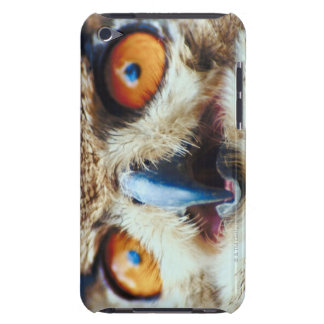 Orange Eyed Owl Case-Mate iPod Touch Case