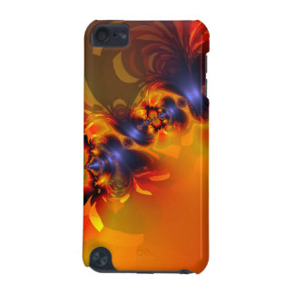 Orange Eyes Aglow – Gold & Violet Delight iPod Touch 5G Cases
