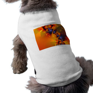 Orange Eyes Aglow – Gold Violet Delight Dog Clothing