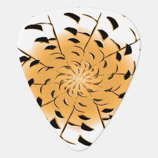 orange fan plectrum