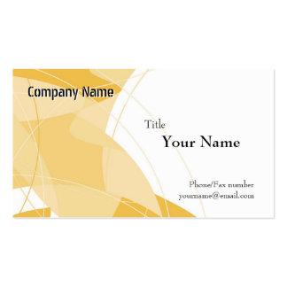 Orange Fantasy Business Card Templates