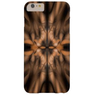 Orange fantasy organic pattern barely there iPhone 6 plus case