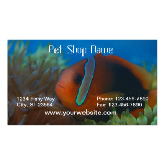 Orange Fish Business Card