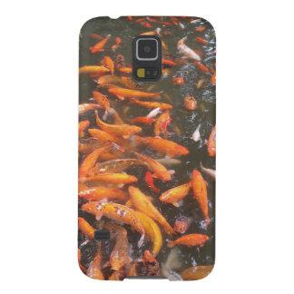 Orange Fish Galaxy S5 Covers