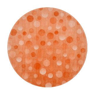 Orange Fizz cutting board round