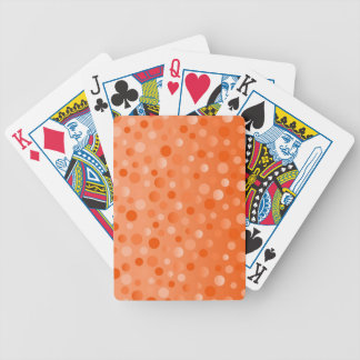 Orange Fizz playing cards vertical