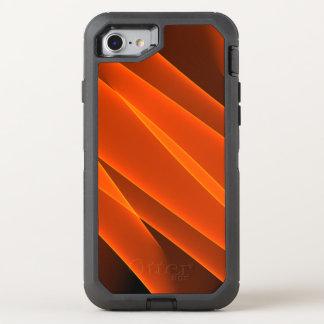 Orange Flames OtterBox Defender iPhone 8/7 Case