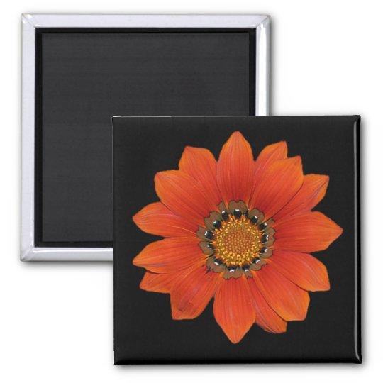 Orange Flower 2  Magnet