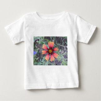 Orange Flower Baby T-Shirt