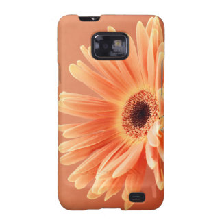 orange flower blank products samsung galaxy SII case