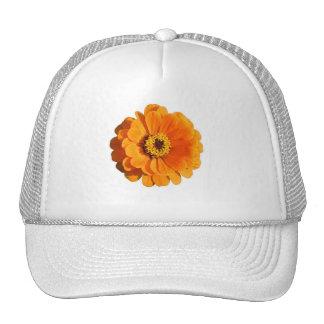 Orange Flower Hat