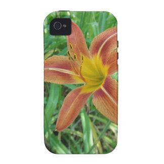 Orange Flower Iphone 4 Case Mate Tough