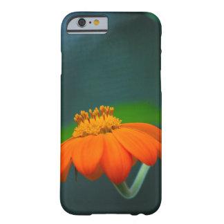 Orange Flower Macro Photography iPhone Case