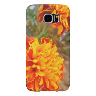 Orange Flower Samsung Galaxy S6, Phone Case
