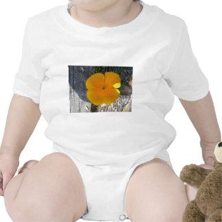 Orange flower tee shirt