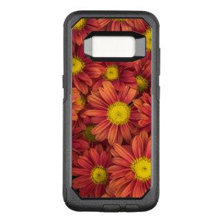 Orange Flowers OtterBox Commuter Samsung Galaxy S8 Case