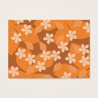 Orange Flowers. Retro Floral Pattern.
