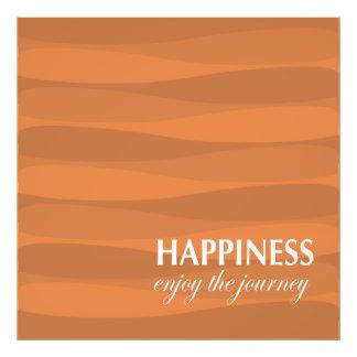 Orange for Happiness Photo Print