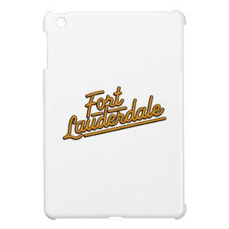 orange Fort Lauderdale iPad Mini Cover
