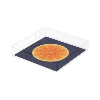 Orange Fruit Acrylic Tray