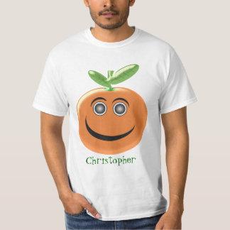 Orange Fruit Just Add Name Shirts