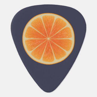 Orange Fruit Plectrum