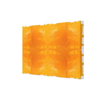 Orange Fruit Skin Spirit Aesthetics Fine Art Canvas Print