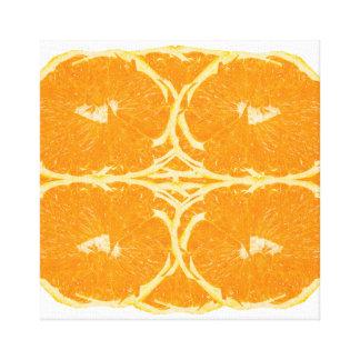 Orange Fruit Spirit Aesthetics Fine Art Canvas Print