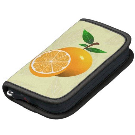 Orange Fruits Folio Planner