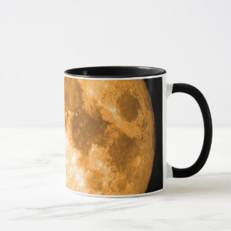orange full moon mug