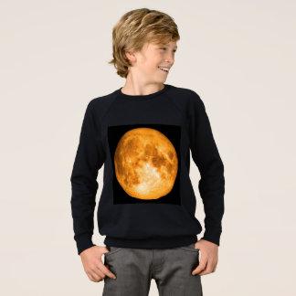 orange full moon sweatshirt