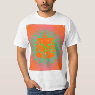 Orange Ganesh shirt