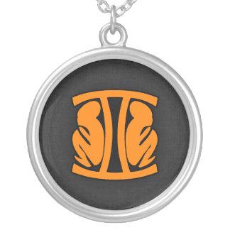 Orange Gemini Pendants