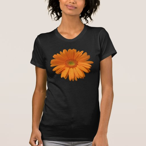 Orange Gerber Daisy Tshirts