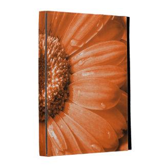 Orange Gerbera Daisy iPad Folio Cover