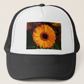 Orange Gerbera Trucker Hat