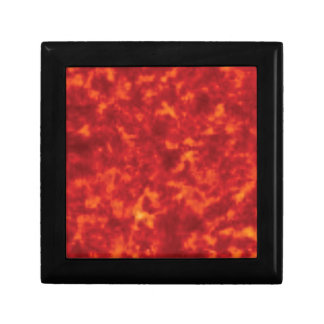 orange glow of lava gift box
