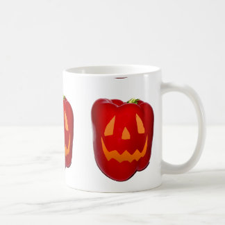 Orange Glow Red Bell Peppolantern Coffee Mug