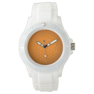 Orange Golf Ball Watch