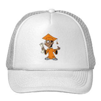 Orange Grad Trucker Hats